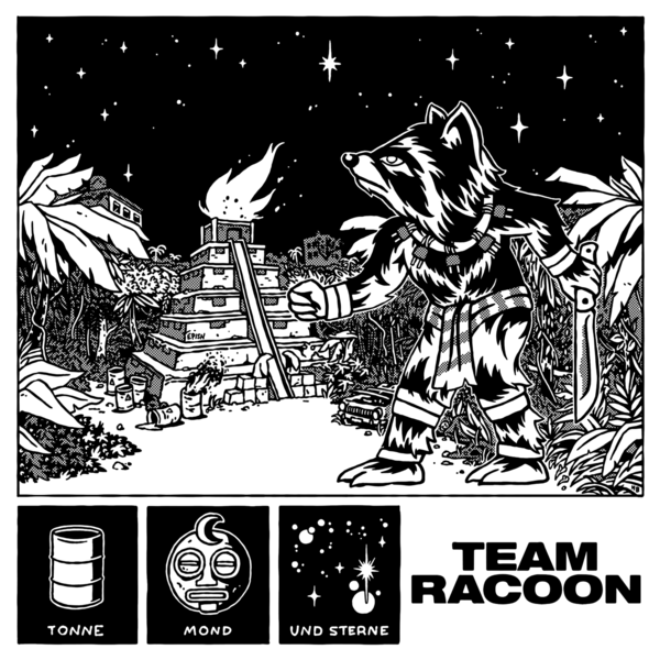 Team Racoon - Tonne Mond & Sterne EP