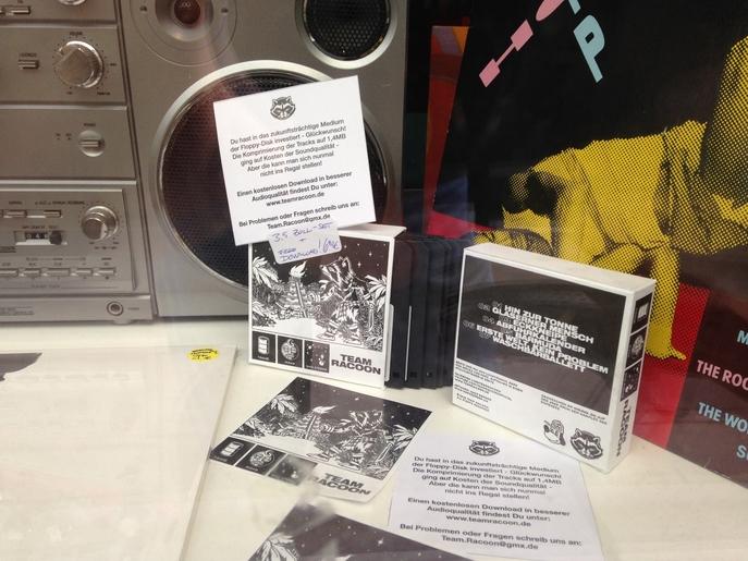 Tonne Mond und Sterne Premium Edition Schaufenster Groove Attack