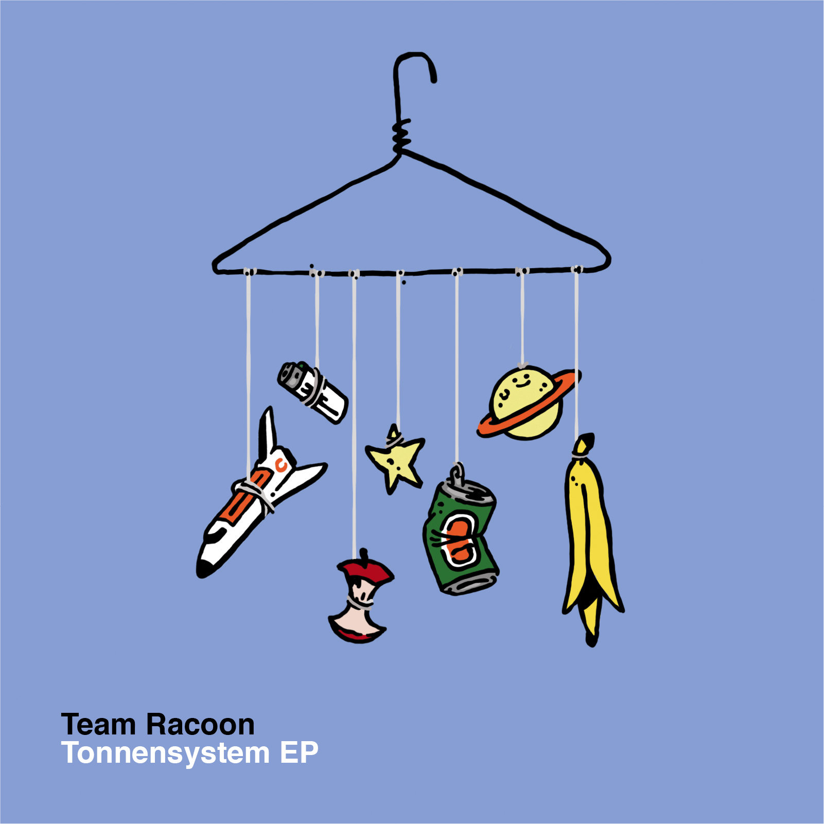 Team Racoon Tonnensystem Cover Front